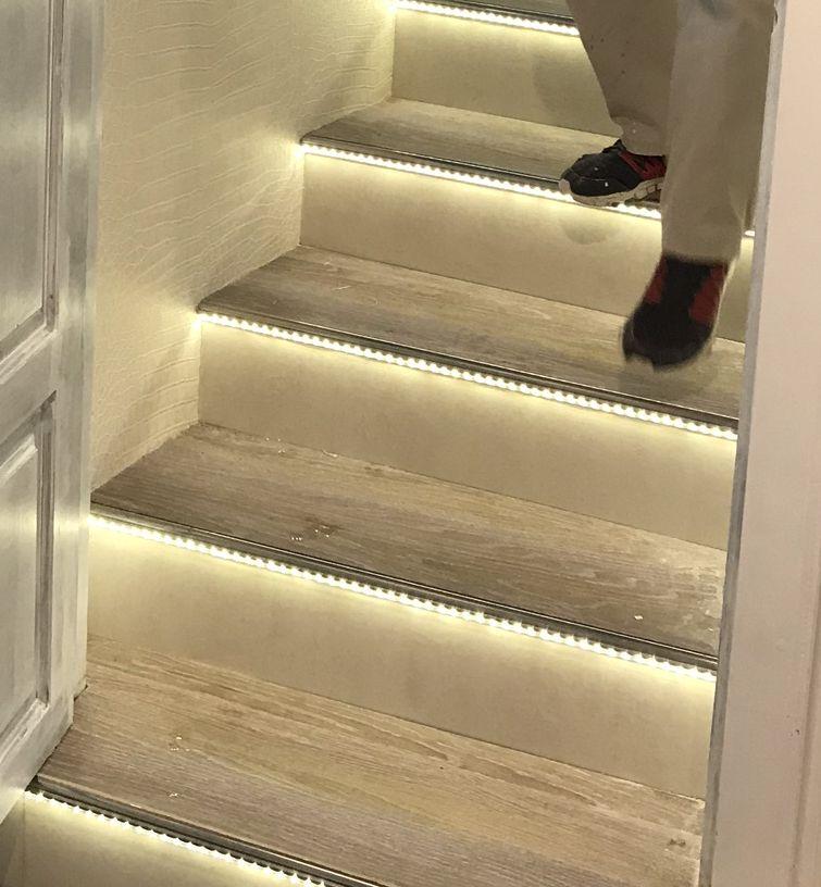 Treppenkantenprofil Fliesen: Treppenprofile Alu Natur, Auch In Gold Oder Schwarz Eloxiert